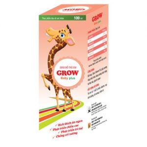Grow-baby-Plus hỗ trợ phát triển chiều cao cho trẻ