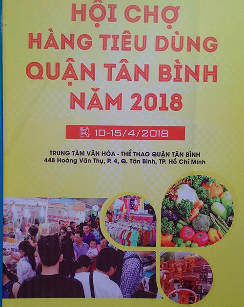 hội chợ tiêu dùng quận tân bình 2018
