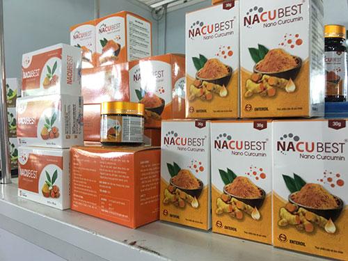 nacubest điều trị viêm loét dạ dày trưng bày tại hội chợ tiêu dùng quận tân bình