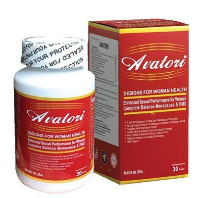 Viên uống tiền mãn kinh Avatori giúp ổn định nội tiết tăng cường sinh lý nữ
