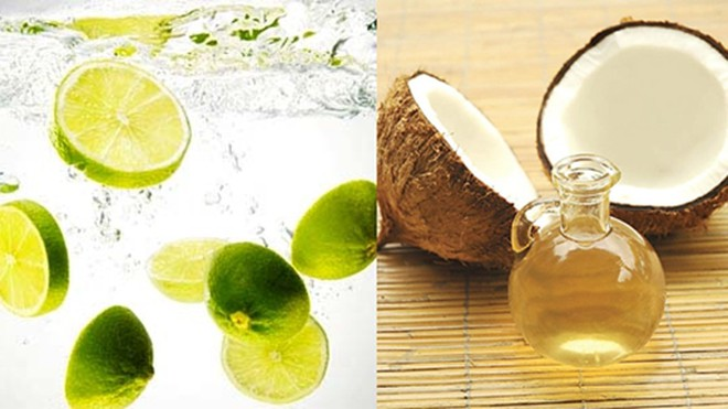 Chữa tóc bạc sớm bằng dầu dừa và chanh