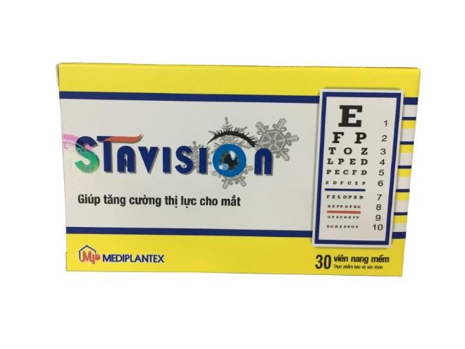 Stavision hỗ trợ điều trị cận thị
