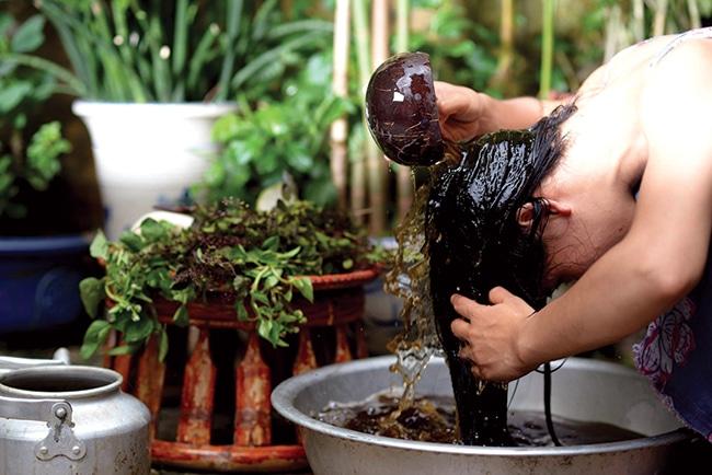Bồ kết giúp tóc chắc khỏe và giảm rụng